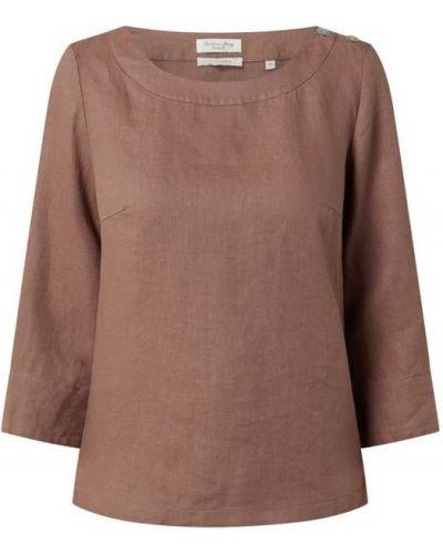 Beżowa bluzka zapinane na guziki Christian Berg Women