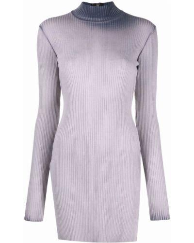 Платье макси с длинными рукавами - серое Cotton Citizen