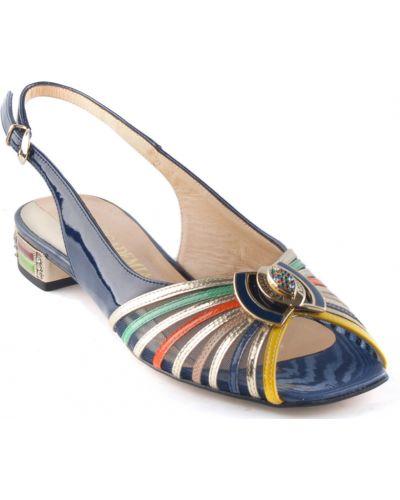 Босоножки на каблуке кожаные Accademia