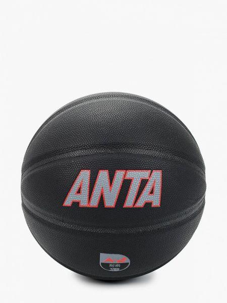 Черный баскетбольный спортивный костюм Anta