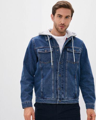Джинсовая куртка - синяя Zolla