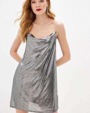 Вечернее платье осеннее серебряный Befree