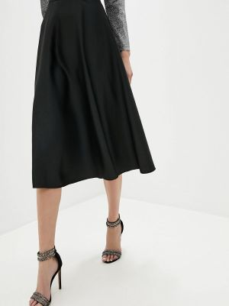 Платье осеннее черное Adl