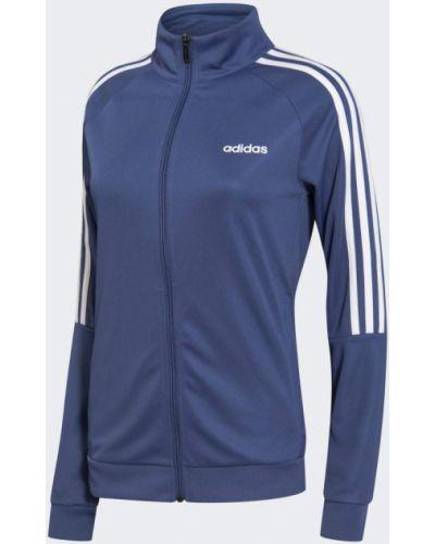 Облегающая футбольная белая олимпийка Adidas