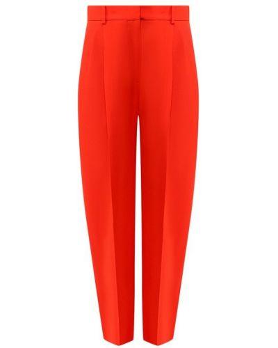 Брюки шерстяные красный Givenchy