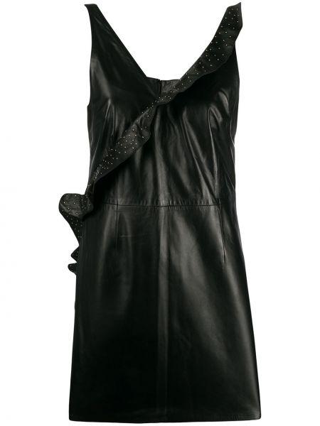 Приталенное платье мини - черное Frankie Morello