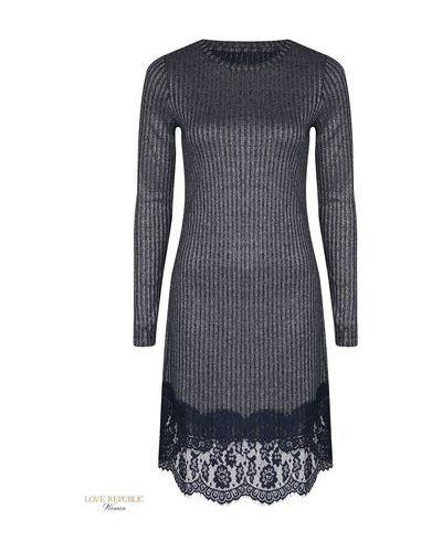 Платье с люрексом акриловое Love Republic