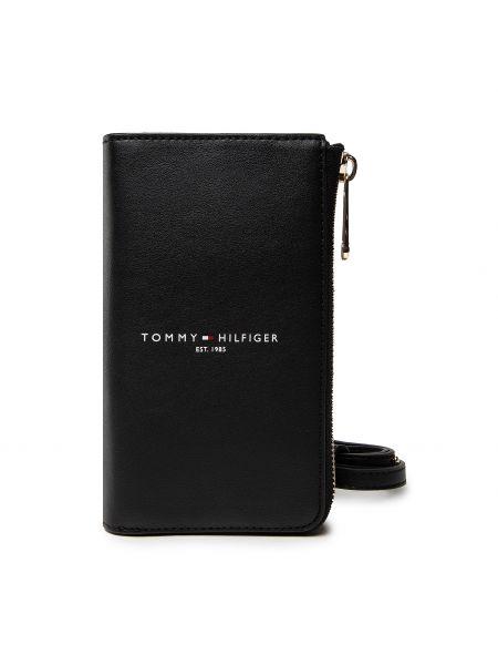 Portfel - czarny Tommy Hilfiger