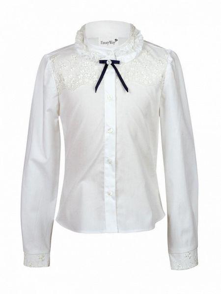 Белая блуза Fansyway