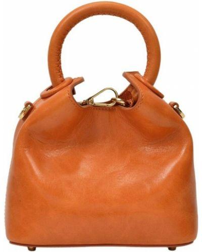 Pomarańczowa torebka Elleme
