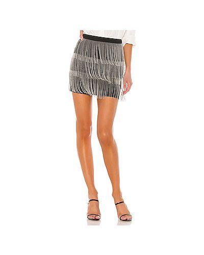 Юбка юбка-колокол с молнией сзади Superdown