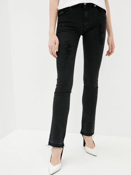 Прямые джинсы черные Blugirl Folies