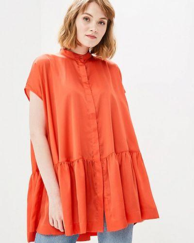 Красная туника туника-блуза Ruxara