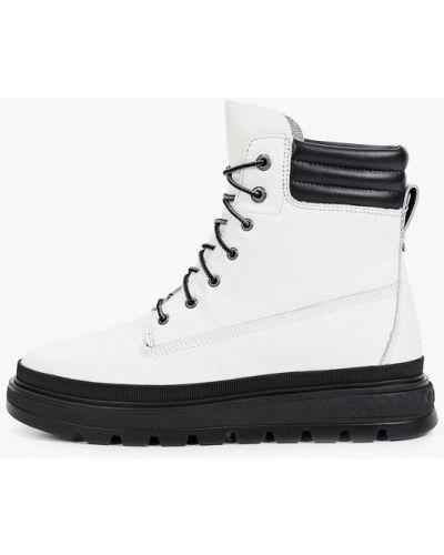 Кожаные ботинки - белые Timberland