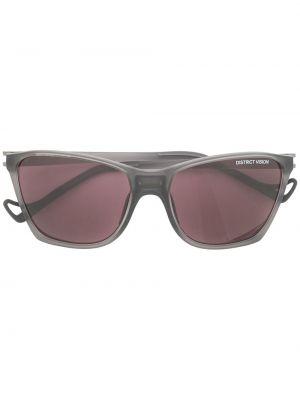 Czarne okulary District Vision