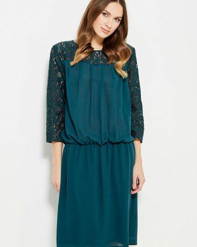 Зеленое вечернее платье Key