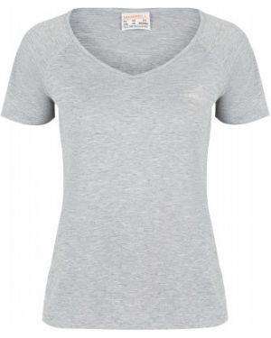 Спортивная футбольная прямая серая спортивная футболка Merrell