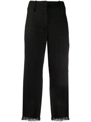Черные укороченные брюки с поясом Dolce & Gabbana Pre-owned