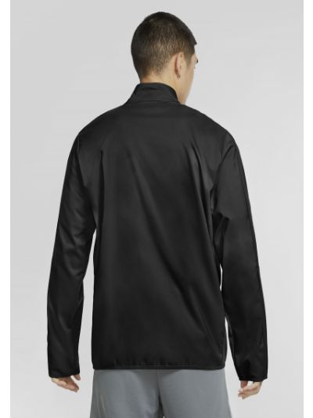 Ветровка с карманами - черная Nike