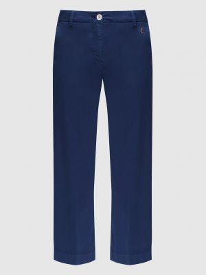 Синие укороченные брюки Marina Yachting