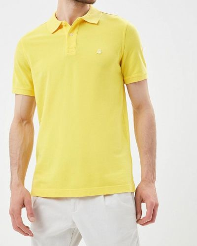 Желтое поло United Colors Of Benetton
