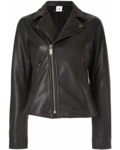Черная куртка на молнии с манжетами Maison Mihara Yasuhiro