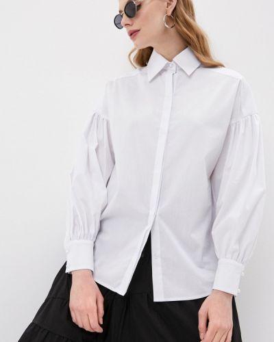 С рукавами белая рубашка Doroteya