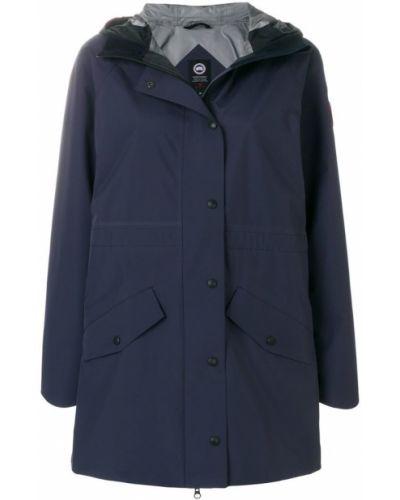 Куртка с капюшоном на молнии с карманами Canada Goose