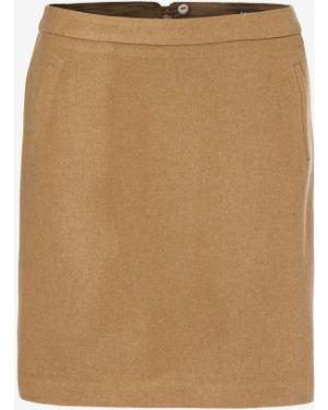 Ciepła beżowa spódnica mini Marie Lund