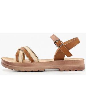 Сандалии коричневый Style Shoes