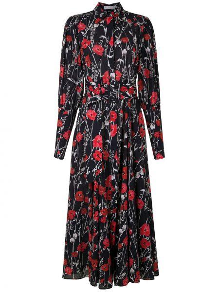 Платье миди облегающее на пуговицах Reinaldo Lourenço