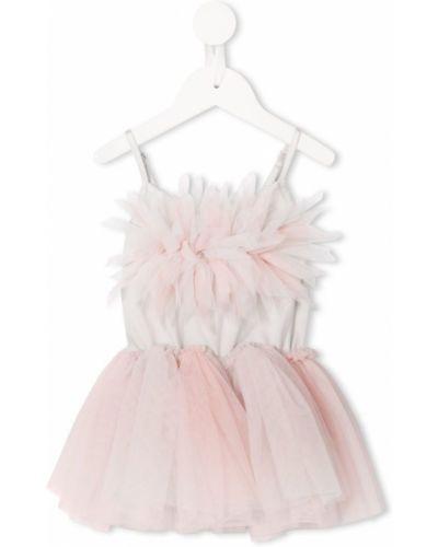 Пышное платье из фатина розовый Tutu Du Monde