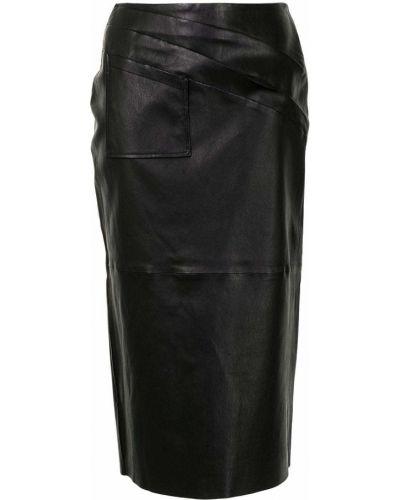 Czarna spódnica ołówkowa Maticevski