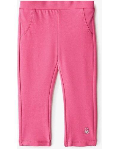 Розовые леггинсы United Colors Of Benetton