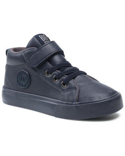 Sneakersy granatowe Big Star