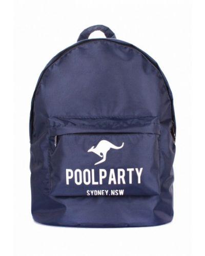 Синий рюкзак Poolparty