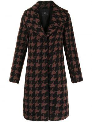 Коричневое пальто длинное Unreal Fur
