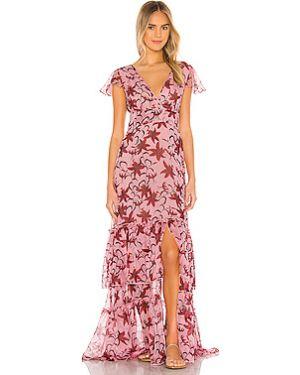 Платье макси шифоновое на молнии Eywasouls Malibu