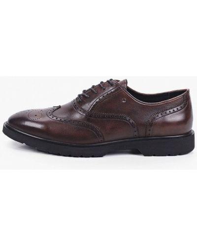 Коричневые туфли осенние Just Couture