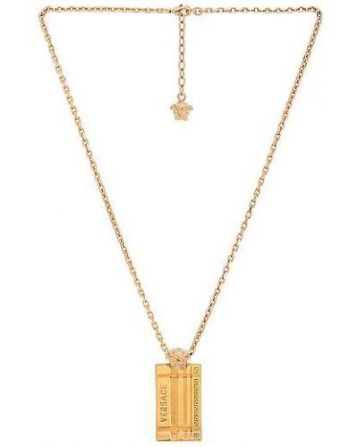 Złoty naszyjnik Versace