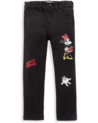 Микки маус зауженные джинсы-скинни с карманами Levi's®