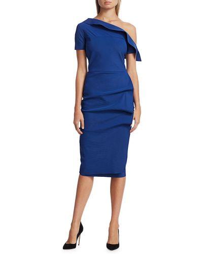 Платье-футляр с декольте с оборками с драпировкой Chiara Boni La Petite Robe