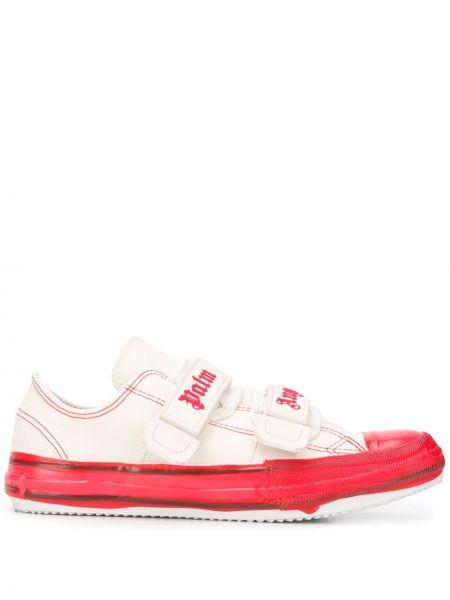 Sneakersy z logo białe Palm Angels