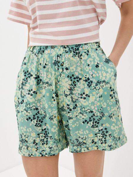 Зеленые повседневные шорты Ichi