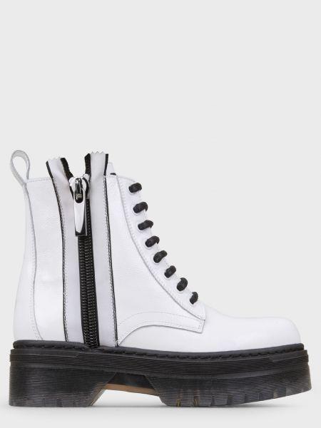 Кожаные ботинки - белые Stokton