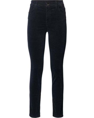 Niebieskie spodnie materiałowe Marc Cain