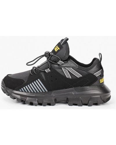 Текстильные черные кроссовки Caterpillar