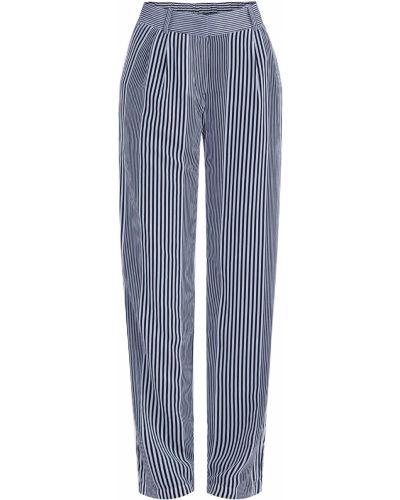 Свободные брюки в полоску с подкладкой Michael Michael Kors