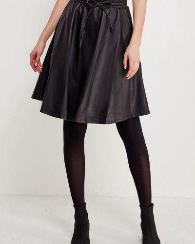 Черная юбка миди Noisy May