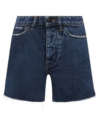 Джинсовые шорты - синие 3x1